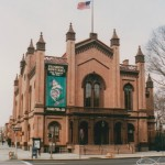 Flushing Town Hall, Flushing, Queens, New York.