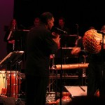 Angel Rodriguez plays the Afro-Cuban Shekere, Queens Theatre in the Park, Flushing, Queens, New York, December 15, 2006.