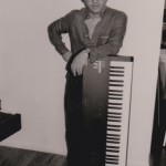 Maestro Edy Martinez in his home in Queens, New York, March, 1990, photo by Demetrios Kastaris.