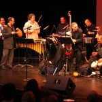 Orquesta Unidad combines with the Latin Jazz Coalition and guest Alfredo de la Fé, at the Queens Theatre in the Park, Flushing, Queens, New York. December 16, 2006.