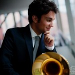 Classical trombone virtuoso Achilles Liarmakopoulos, member of the legendary Canadian Brass and Pink Martini.