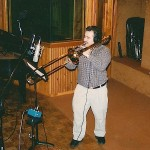 Demetrios recording in Long Island