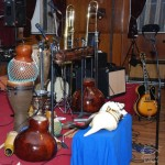 Concert Time at the Stathakion Cultural Center in Astoria, Queens, New York. November 4, 2007.