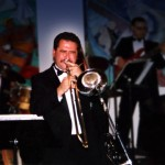 Demetrios Kastaris, Flushing Town Hall, Grand Opening Celebration of Flushing Town Hall Jazz Cafe, May 20, 1993. Photo by Juan Torrico.