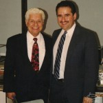 Tito Puente, Demetrios Kastaris, Latin Jazz concert at the Architect's and Designer's Building, Manhattan, New York, September 30, 1997, photo by Ito Rodriguez.