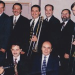 Top Row: Hiram Remón, Angel Rodriguez, Demetrios Kastaris, multi-Grammy Award winner, pianist, Oscar Hernández (leader of the Spanish Harlem Orchestra), Victor Rendón, Pete McGuinness. Bottom row: Alí Bello, Jerome Goldschmidt, Freddy Zanella.