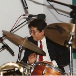 Ray Barretto, Flushing Town Hall, Grand Opening Celebration of Flushing Town Hall Jazz Cafe, May 20, 1993. Photo by Juan Torrico.