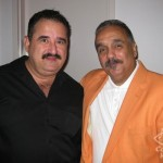 Demetrios Kastaris, Willie Colon, Queens Theatre in the Park, October, 2010, photo by Willy Mosquera.