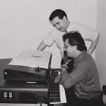 Demetrios Kastaris collaborates with maestro Edy Martinez.