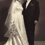 Wedding Day, Panagiotis and Georgia Kastaris, December 26, 1955.