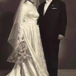 Wedding Day, Panagiotis and Georgia Kastaris, December 26, 1955.