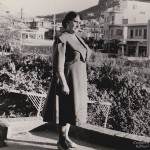 Grandmother Penelope Kastaris in Galatsi, (Athens) Greece, Early 1950's.