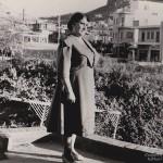Grandmother Penelope Kastaris in Galatsi, (Athens) Greece, Early 1950's.