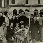 The Kastaris family decides to immigrate to the United States in 1961! This photo was taken approximately one hour before leaving Athens, Greece in Port Pireas by ship. Notice Reverend Panagiotis Kastaris (in the middle with the hat on) shaved his beard and cut his long hair in preparation for blending into the culture of the United States. Left to right, top row, Demetrios Kastaris, aunt Thora (Theothora which means God's gift), aunt Eleni, brother Rip, Grandma Ekaterina, mom (Georgia) with scarf  on, dad (Reverend Panagiotis) grandma Penelope. unknown person, grandfather Euripides. Bottom row, left to right, uncle Kostantinos, uncle Theothoros (name means gift from God), sister Penny, cousin Katina (Ekaterina), cousin Sofia (name means wisdom). Only the 5 of us in the immediate Kastaris family immigrated to the United States. That makes this photo is a very dramatic image for me. We did however visit Greece numerous times after immigrating to the United States.