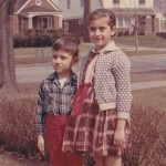 Demetrios and Penny, Lorain, Ohio, around 1964.