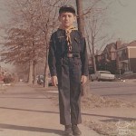 Demetrios, in his Cub Scout uniform around 1967, University City, St. Louis, Missouri.