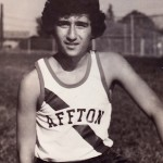 Demetrios, running on the Affton High School Cross Country Team, 1975, Affton, St. Louis, Missouri.