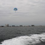 Parasailing in New England.