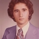 Demetrios, senior picture, Affton High School, 1977, Affton, St. Louis, Missouri.