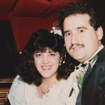 Hilda and Demetrios, wedding day, June 29, 1988.