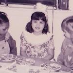 Kathryn Kastaris poses at her birthday party in elementary school.