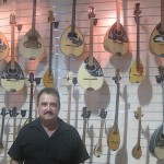 Bouzouki and Baglama store in Monastiraki, Athens, Greece,  photo credit: Demetrios Kastaris, September, 2014.