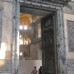 Agia Sophia, (huge doors), Istanbul Turkey, September, 2014, photo credit: Demetrios Kastaris.