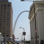 Downtown St. Louis, Missouri, Gateway Arch in background, Photo credit, Demetrios  Kastaris, September, 2015 St. Louis, Missouri, Photo credit, Demetrios Kastaris, September, 2015